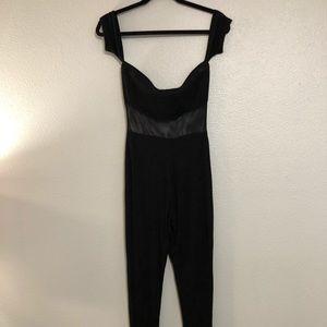 Fashion Nova black one piece